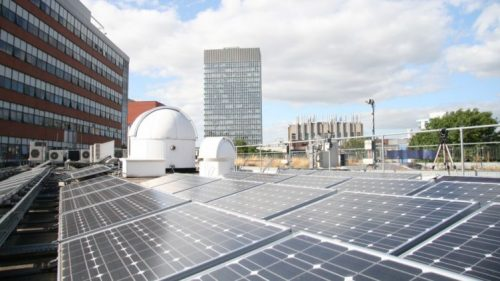 Uswitch recognise University of Sheffield commitment to renewables