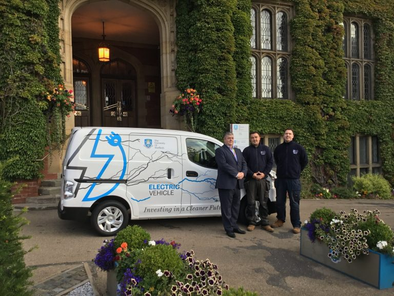 University of Sheffield ranks as one of the highest in the UK for eco-friendly fleets